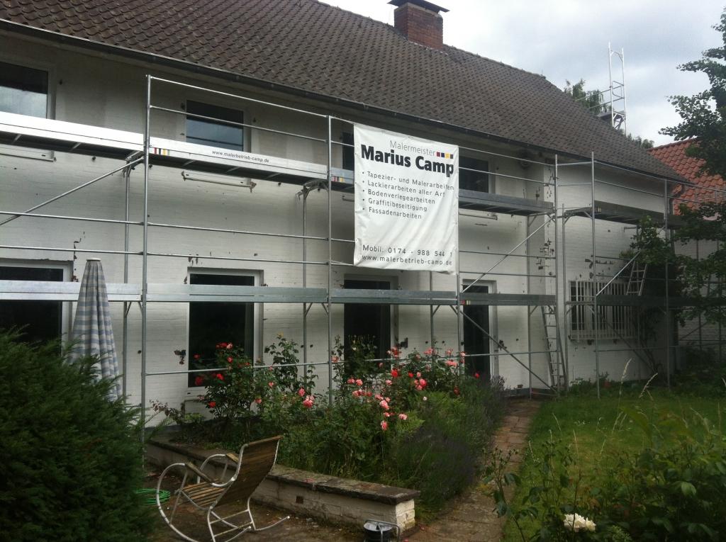 Fassadensanierung in Düsseldorf Wittlaer